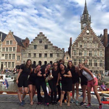 Sloeproeisters Hattem-Zwolle zegevieren in Gent