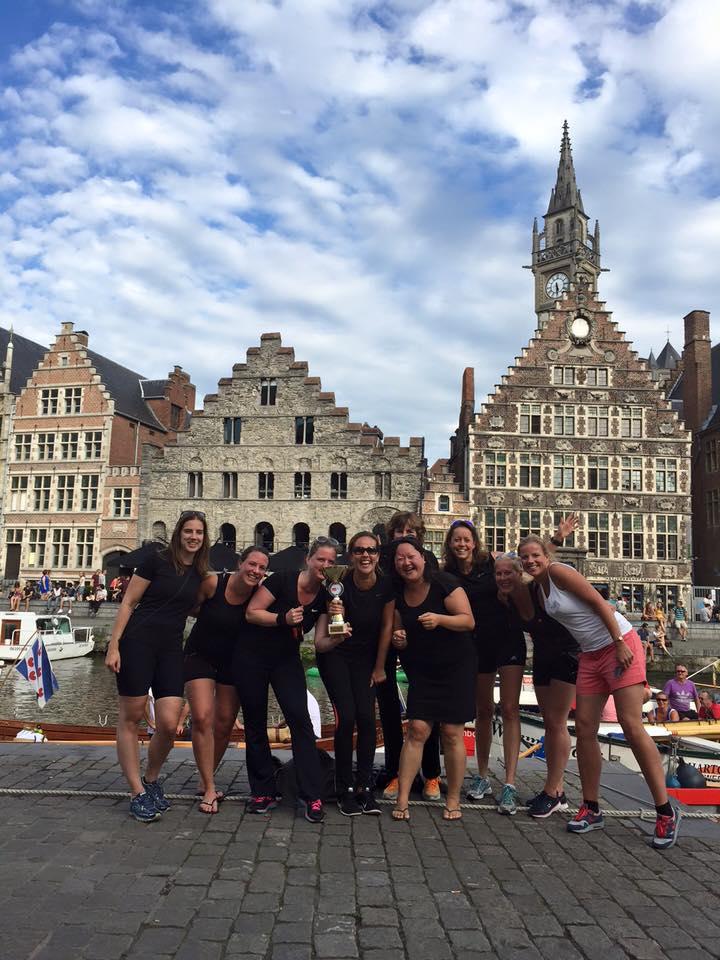 150829 Dames Voorganck winnen Gent