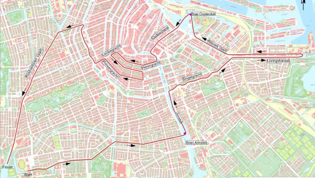 151005 route Amsterdam
