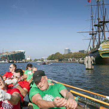 tevreden over Grachtenrace Amsterdam