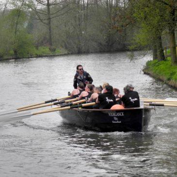 Het Jongste team op de Utrechtse gracht